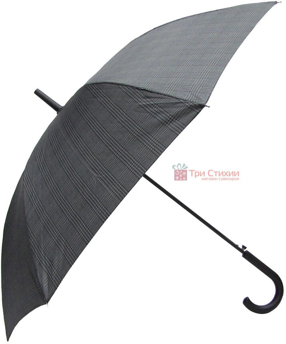 Зонт-трость Derby 77167P-2 полуавтомат Крупная клетка, фото 3