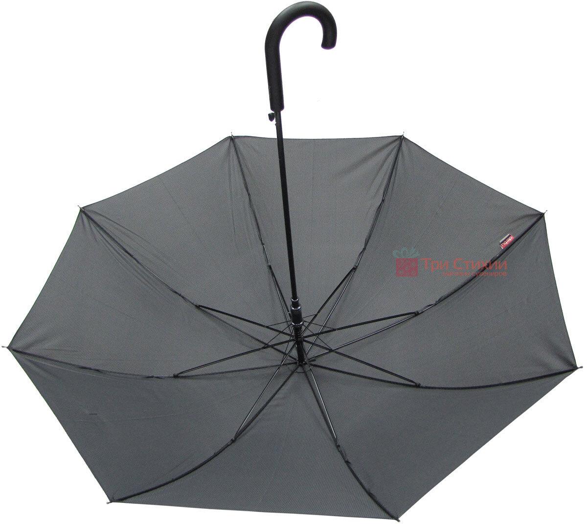 Зонт-трость Derby 77167P-3 полуавтомат Мелкая клетка, фото 3
