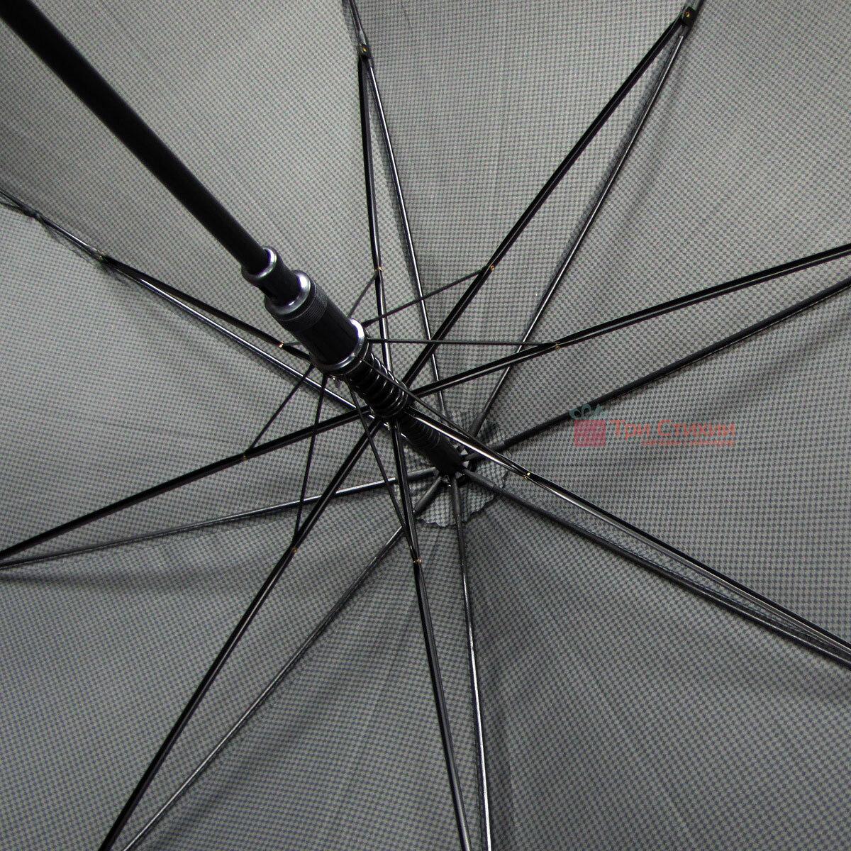 Зонт-трость Derby 77167P-3 полуавтомат Мелкая клетка, фото 4