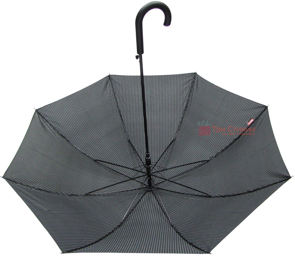 Зонт-трость Derby 77167P-4 полуавтомат Полоска, фото 3