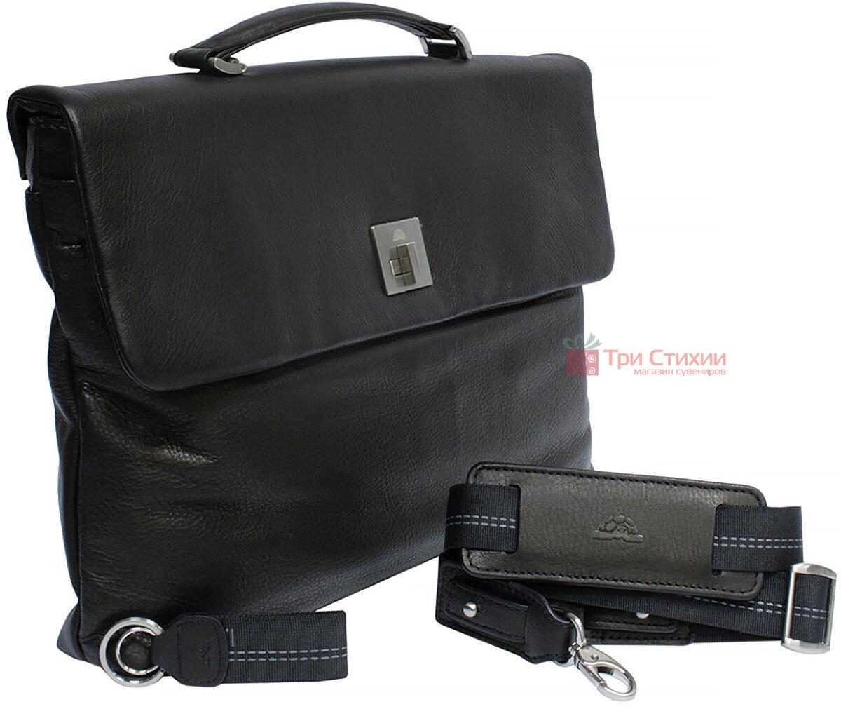 Портфель Tony Perotti Contatto 9160-35-Ct nero Чорний, Колір: Чорний, фото