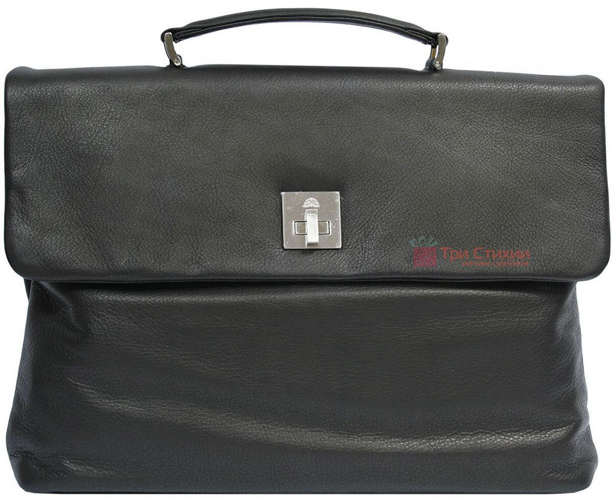 Портфель Tony Perotti Contatto 9160-35-Ct nero Чорний, Колір: Чорний, фото 2