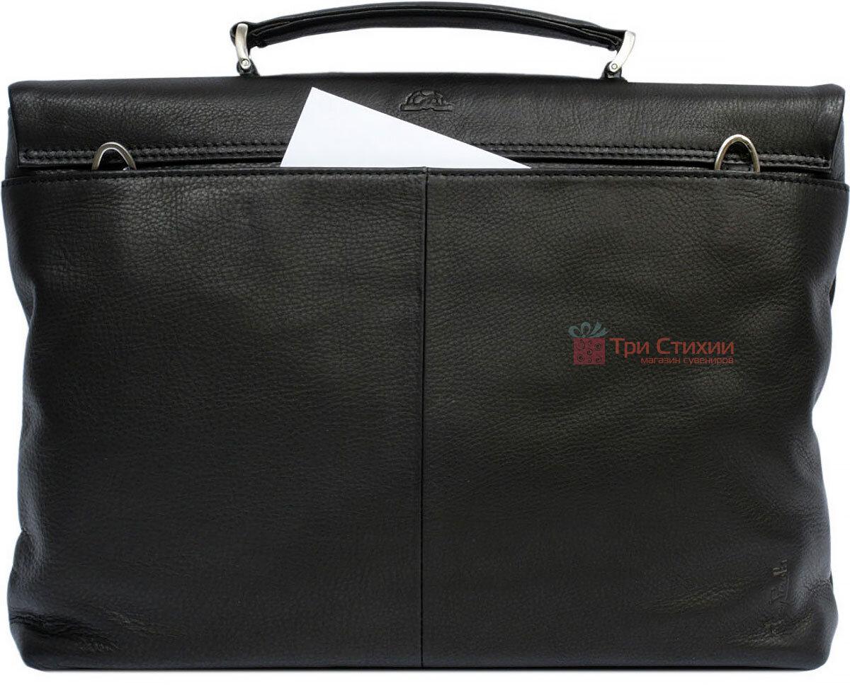 Портфель Tony Perotti Contatto 9160-35-Ct nero Чорний, Колір: Чорний, фото 3