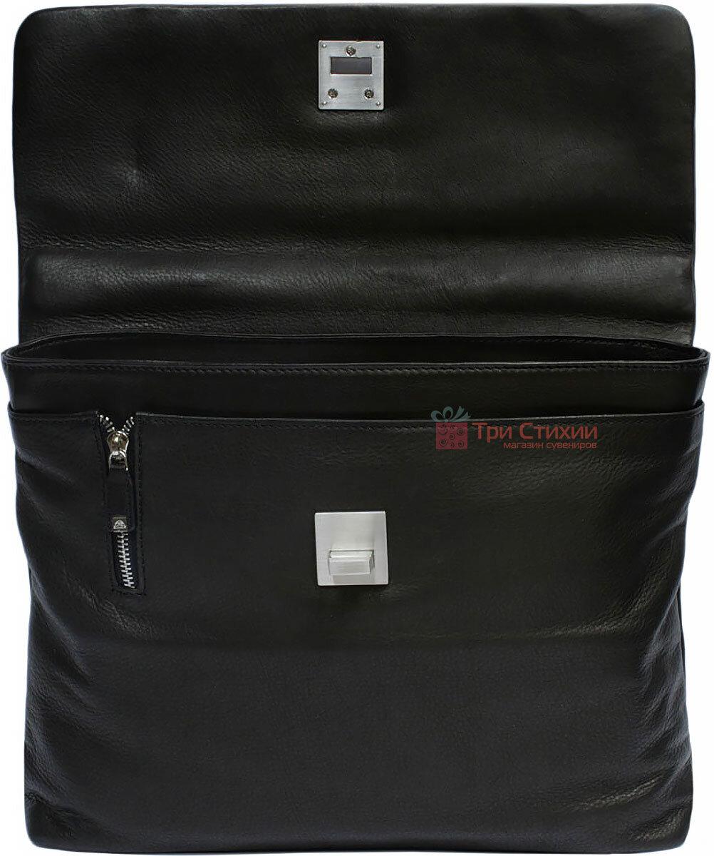 Портфель Tony Perotti Contatto 9160-35-Ct nero Чорний, Колір: Чорний, фото 4