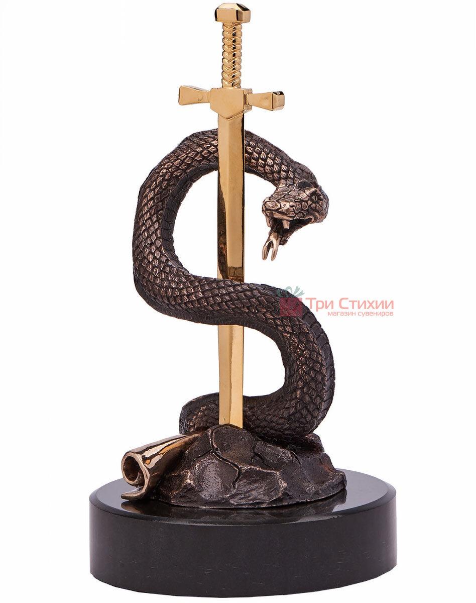 Статуэтка из бронзы «Вечная мудрость» Vizuri (Визури) C03, фото