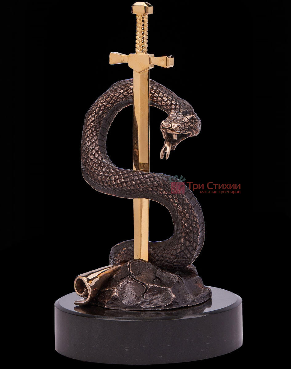 Статуэтка из бронзы «Вечная мудрость» Vizuri (Визури) C03, фото 3
