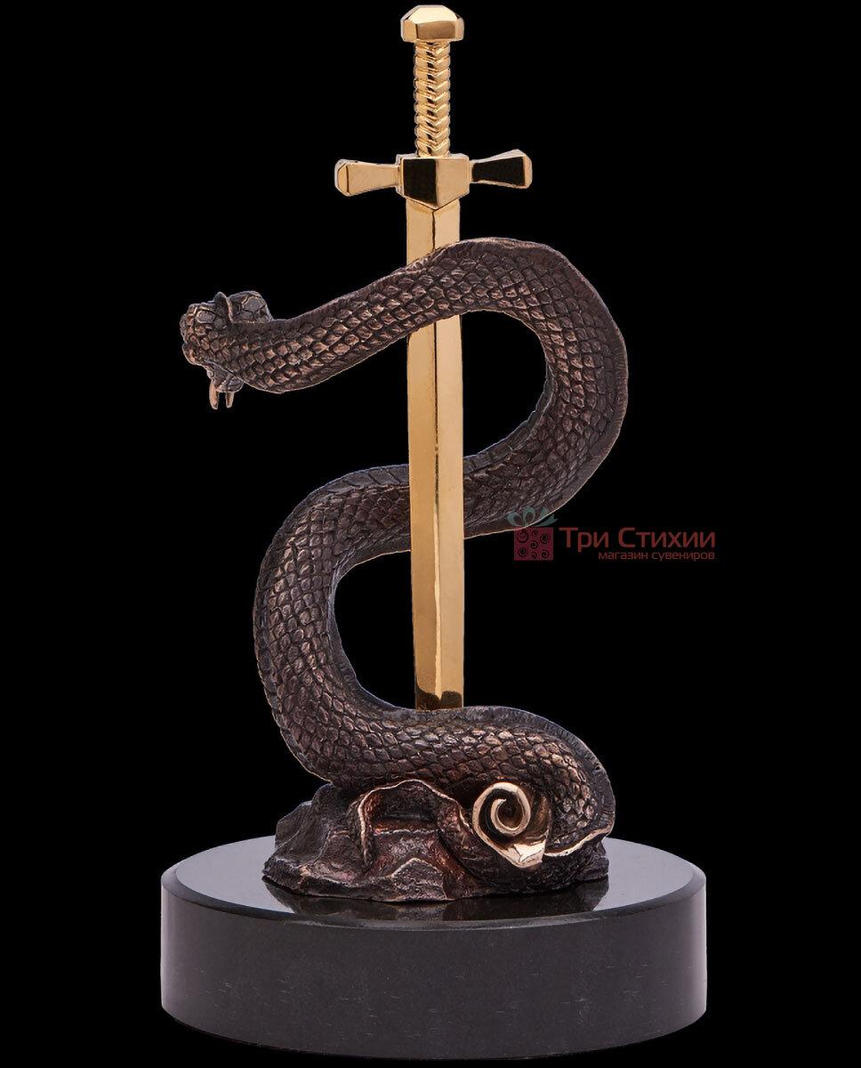 Статуэтка из бронзы «Вечная мудрость» Vizuri (Визури) C03, фото 4