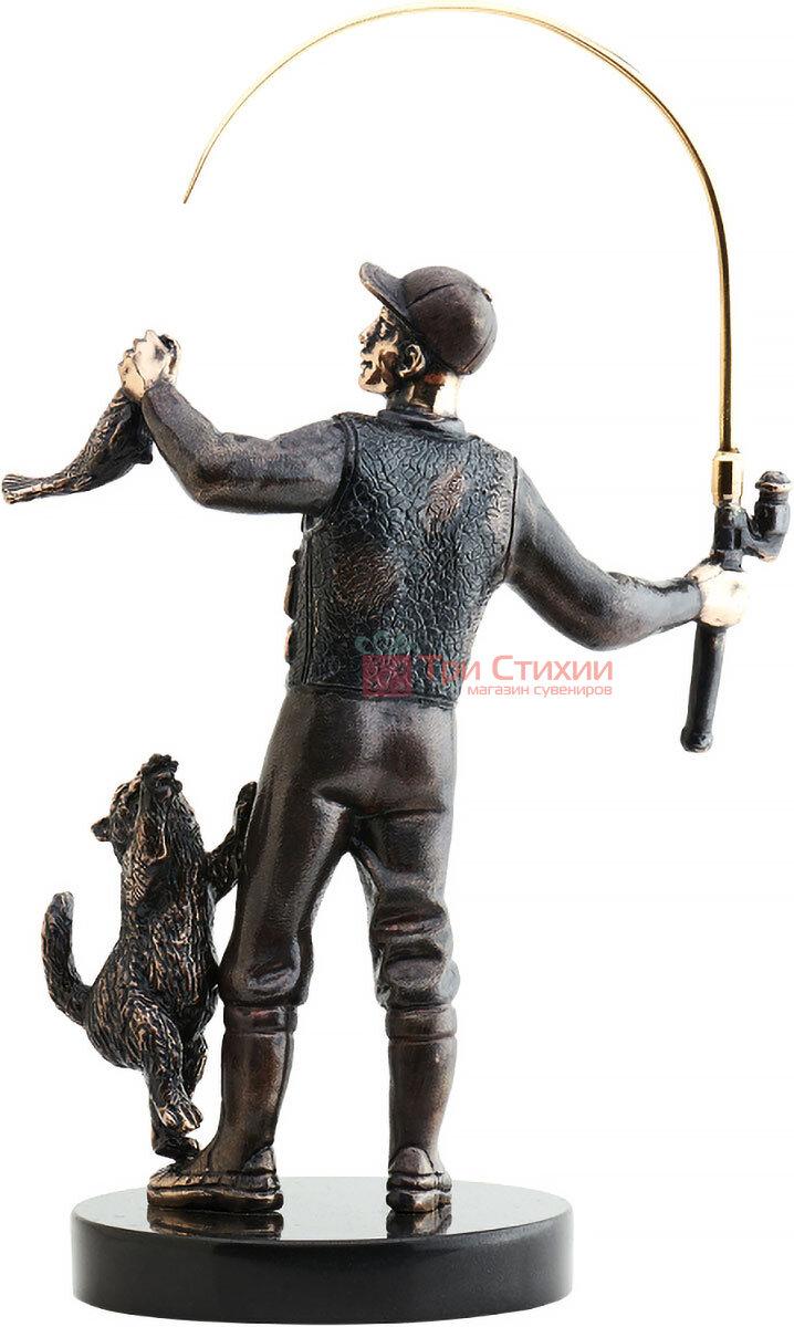 Статуэтка из бронзы «Рыбак» Vizuri (Визури) H02, фото 2
