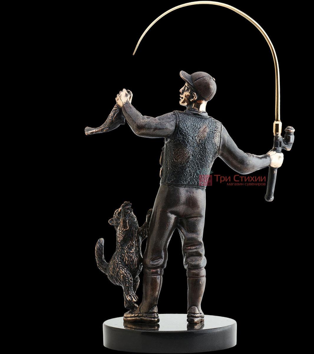 Статуэтка из бронзы «Рыбак» Vizuri (Визури) H02, фото 4
