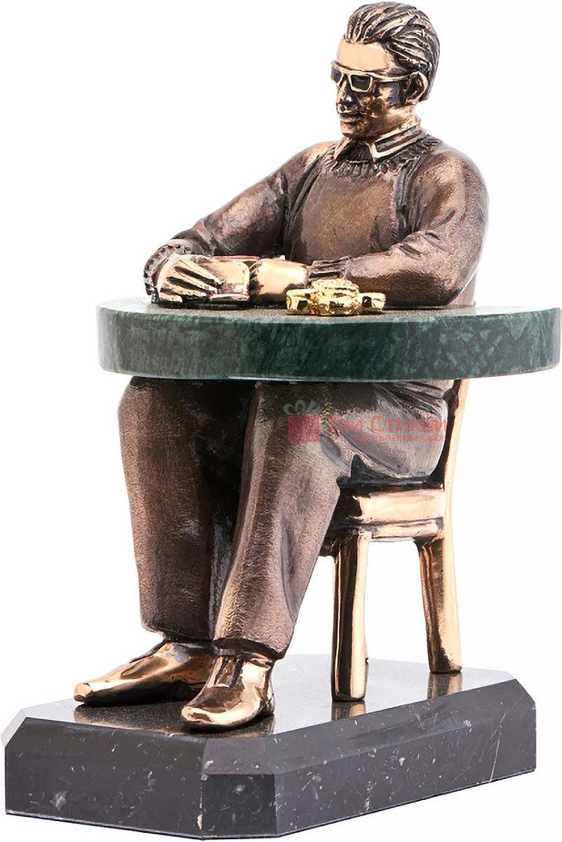 Статуетка з бронзи «Зірка покеру» Vizuri (Візурі) H05, фото