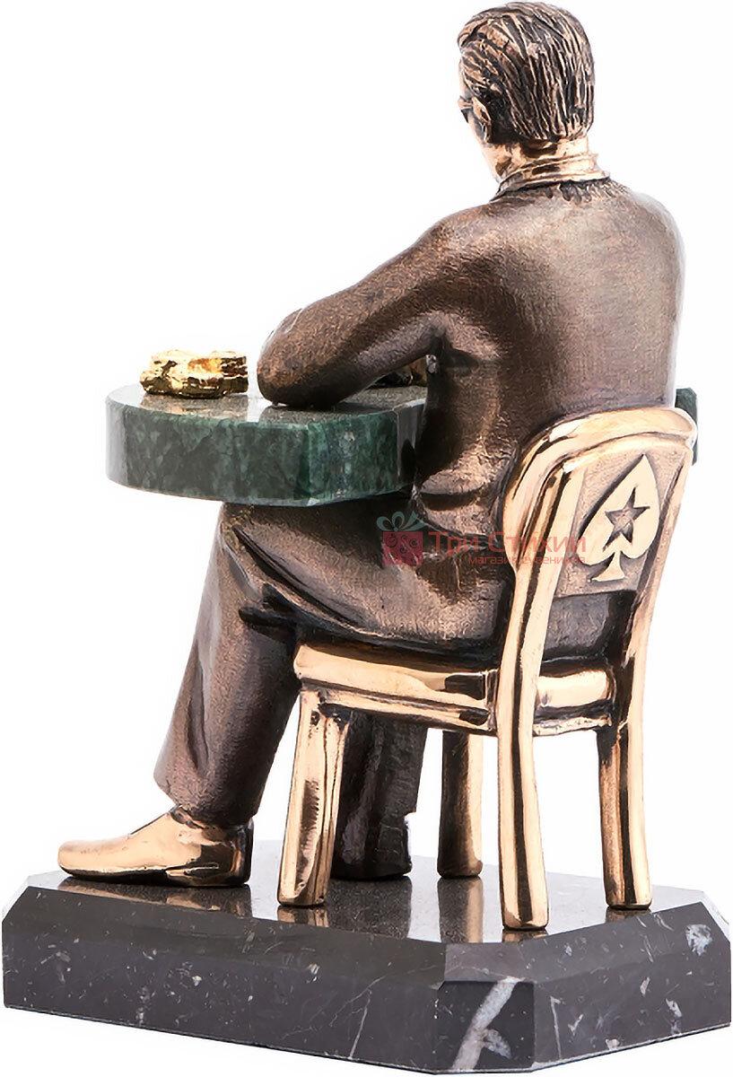 Статуэтка из бронзы «Звезда покера» Vizuri (Визури) H05, фото 2