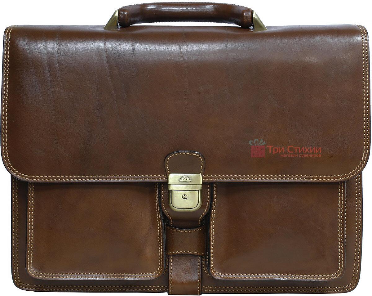 Портфель Tony Perotti Italico 8013-it cognac Коньячный, фото