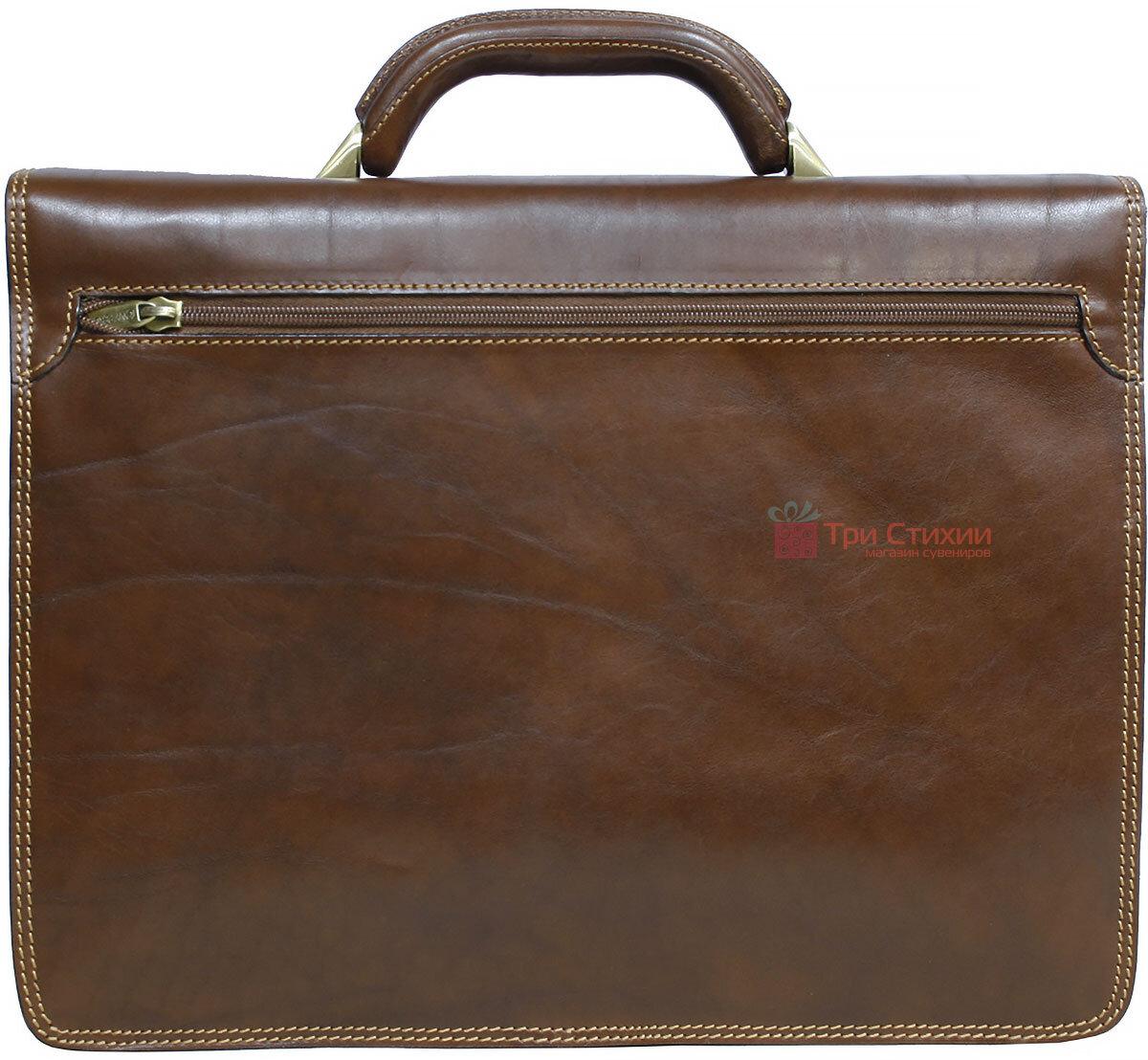 Портфель Tony Perotti Italico 8013-it cognac Коньячный, фото 3