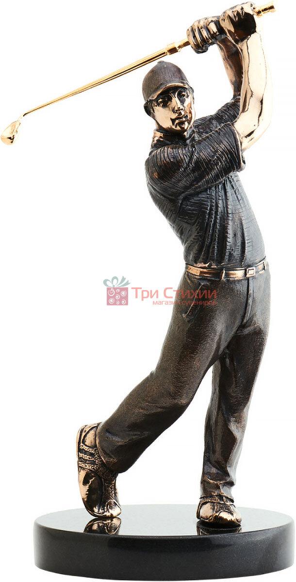 Статуетка з бронзи Гравець в гольф Vizuri (Візурі) S01, фото