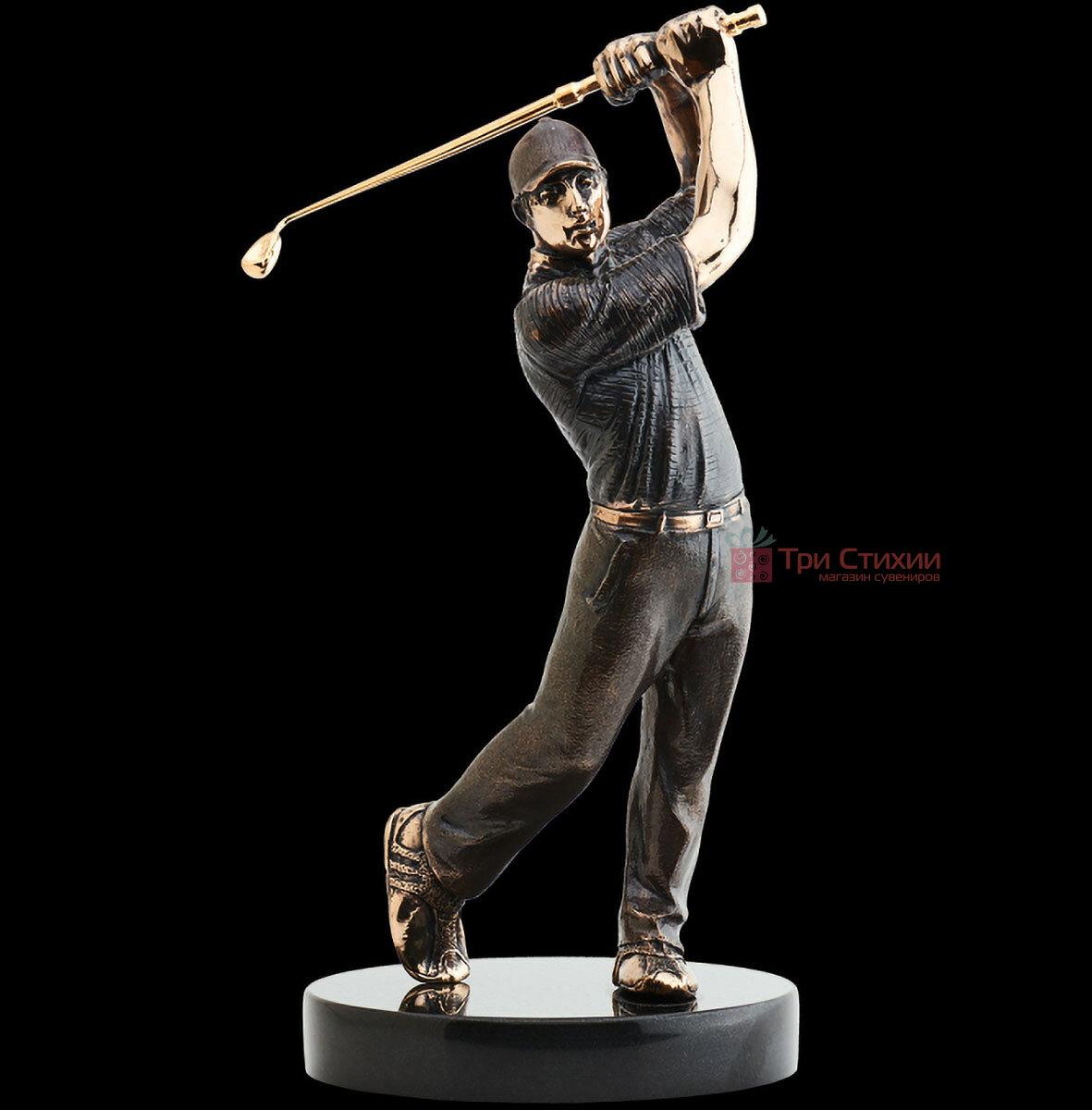 Статуетка з бронзи Гравець в гольф Vizuri (Візурі) S01, фото 3