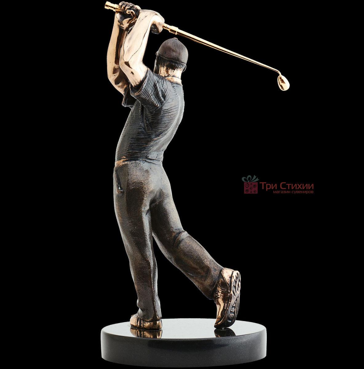 Статуетка з бронзи Гравець в гольф Vizuri (Візурі) S01, фото 4