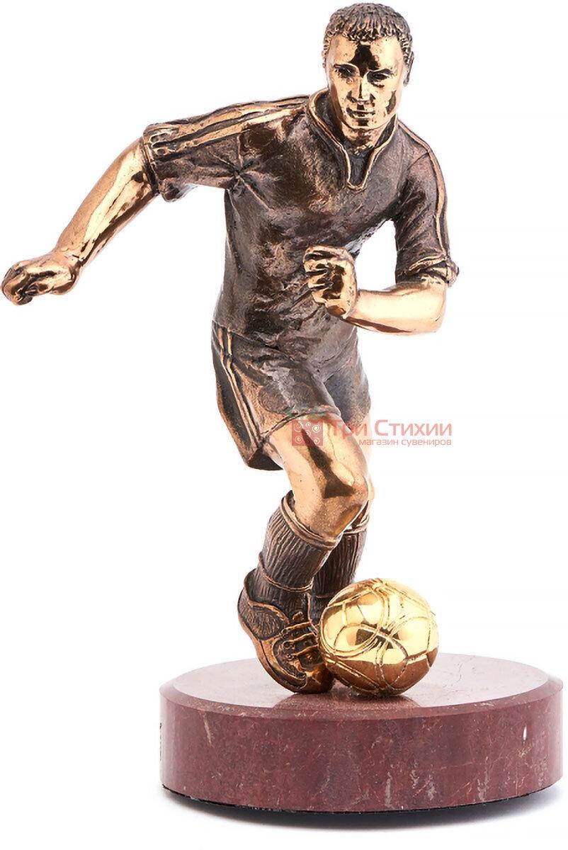 Статуетка з бронзи Футболіст Vizuri (Візурі) S02, фото