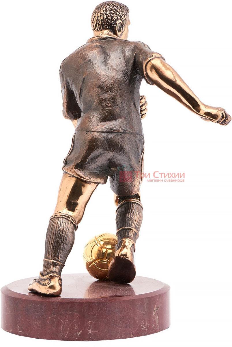 Статуетка з бронзи Футболіст Vizuri (Візурі) S02, фото 2