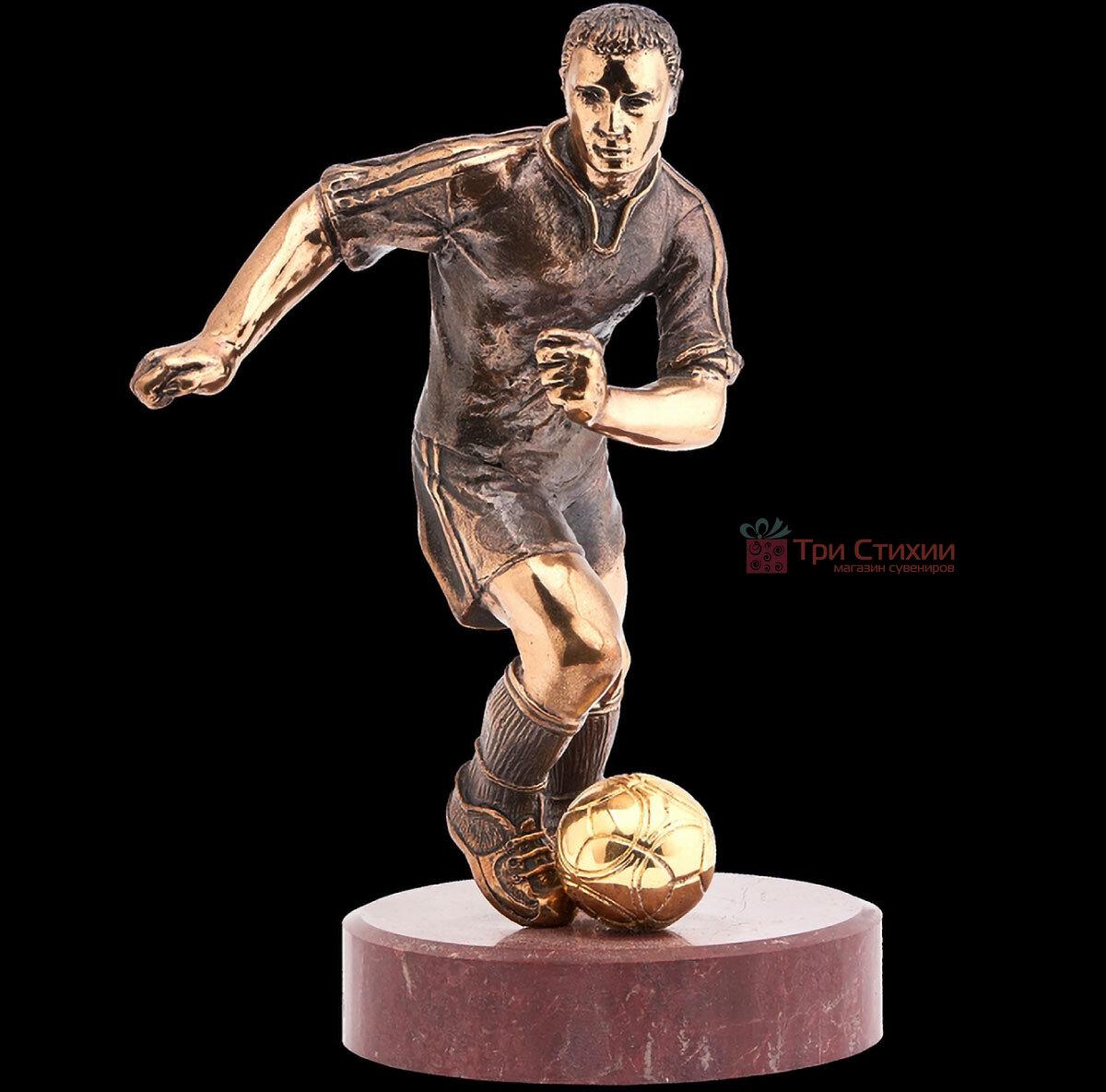 Статуетка з бронзи Футболіст Vizuri (Візурі) S02, фото 3