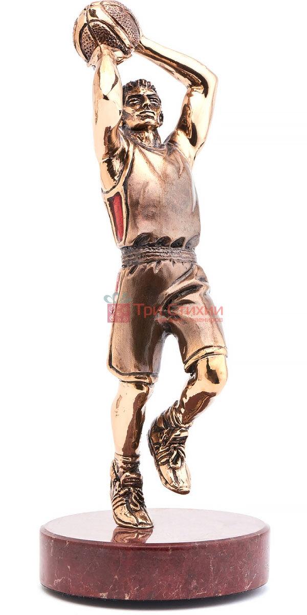 Статуетка з бронзи «Баскетболіст» Vizuri (Візурі) S05, фото