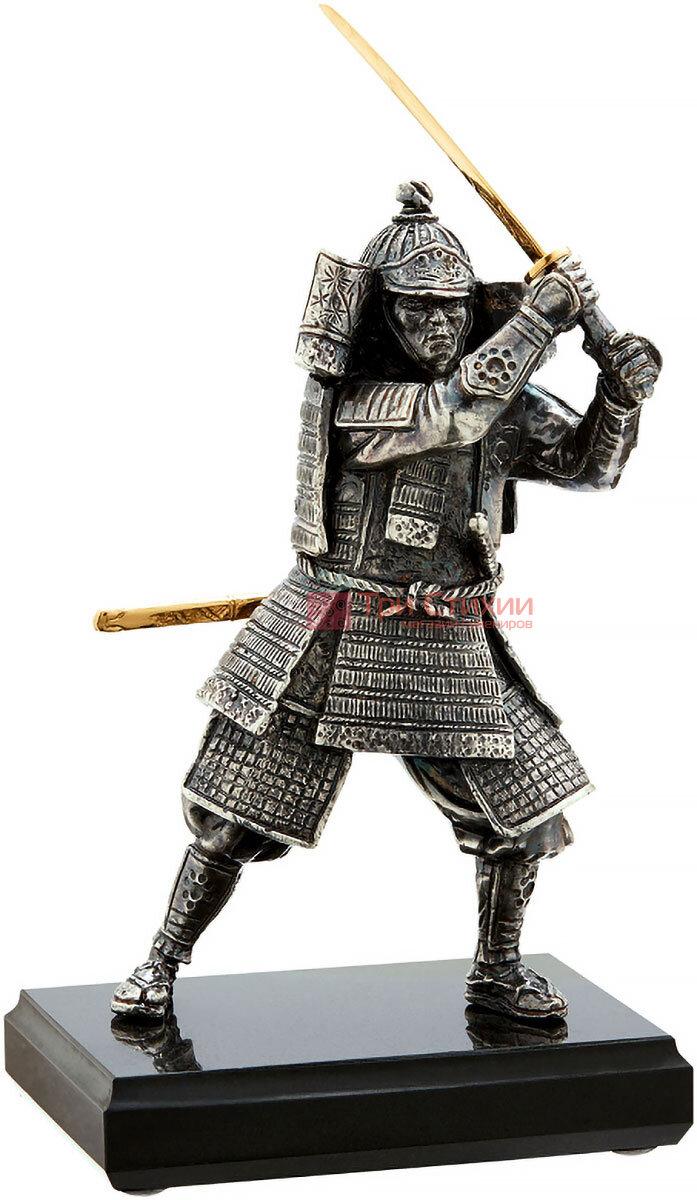 Статуэтка из бронзы «Самурай» с мечом Vizuri (Визури) W01, фото