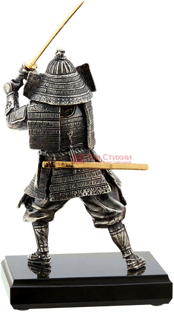 Статуэтка из бронзы «Самурай» с мечом Vizuri (Визури) W01, фото 2