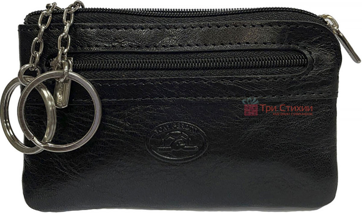 Ключниця Tony Perotti Italico 359-it nero Чорна, Колір: Чорний, фото