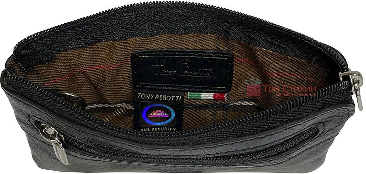 Ключниця Tony Perotti Italico 359-it nero Чорна, Колір: Чорний, фото 2