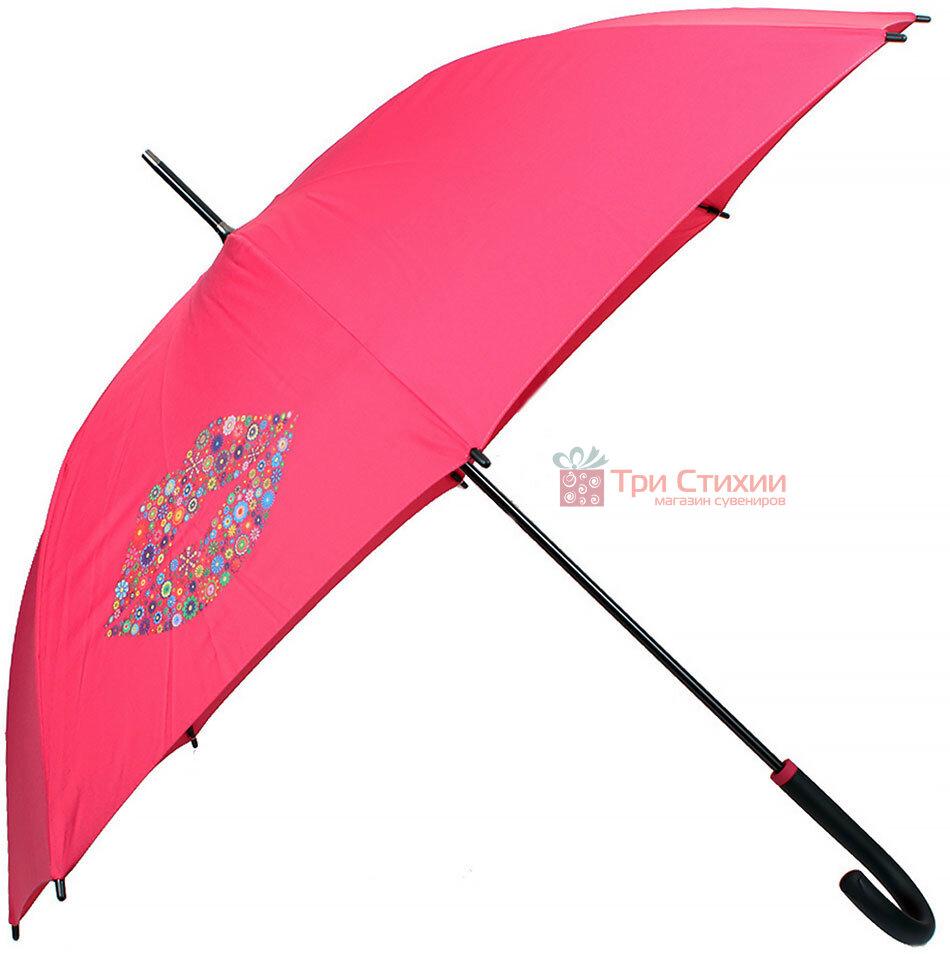 Зонт-трость Doppler полуавтомат 740765Кiss-1 Красный, Цвет: Красный, фото