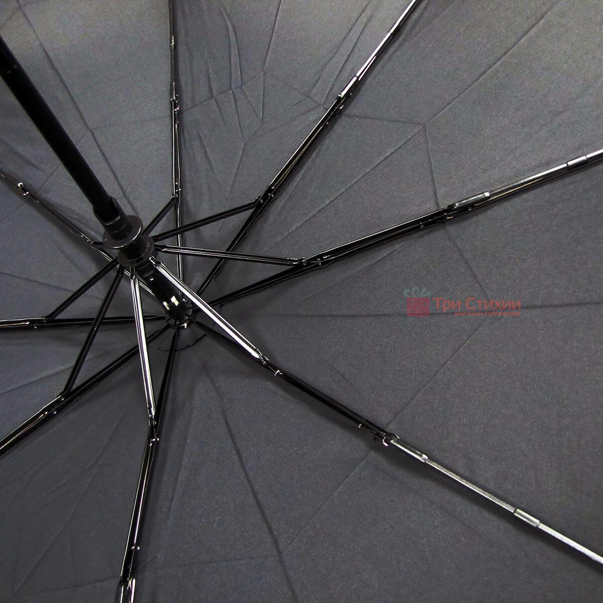 Зонт складной Doppler XM 74366N полный автомат Черный, фото 4
