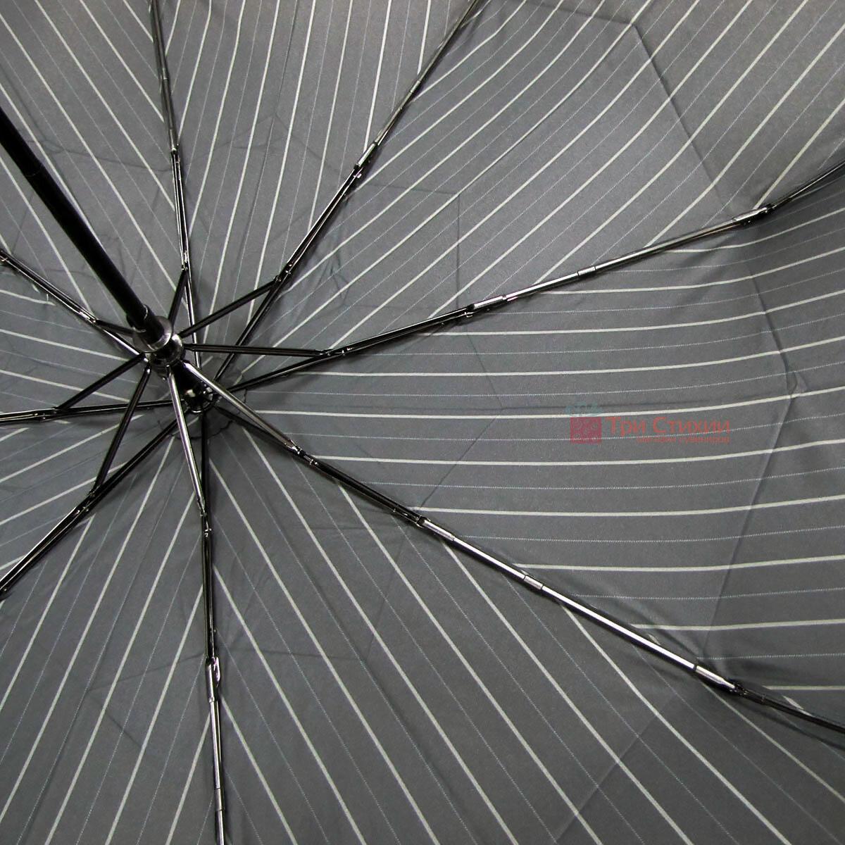 Зонт складной Doppler XM 74367N-4 полный автомат Широкая полоска, фото 4