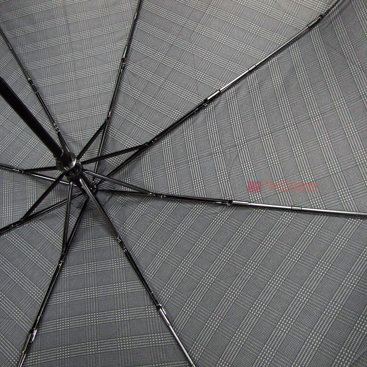 Зонт складной Doppler XM 74367N-6 полный автомат Крупная клетка, фото 4