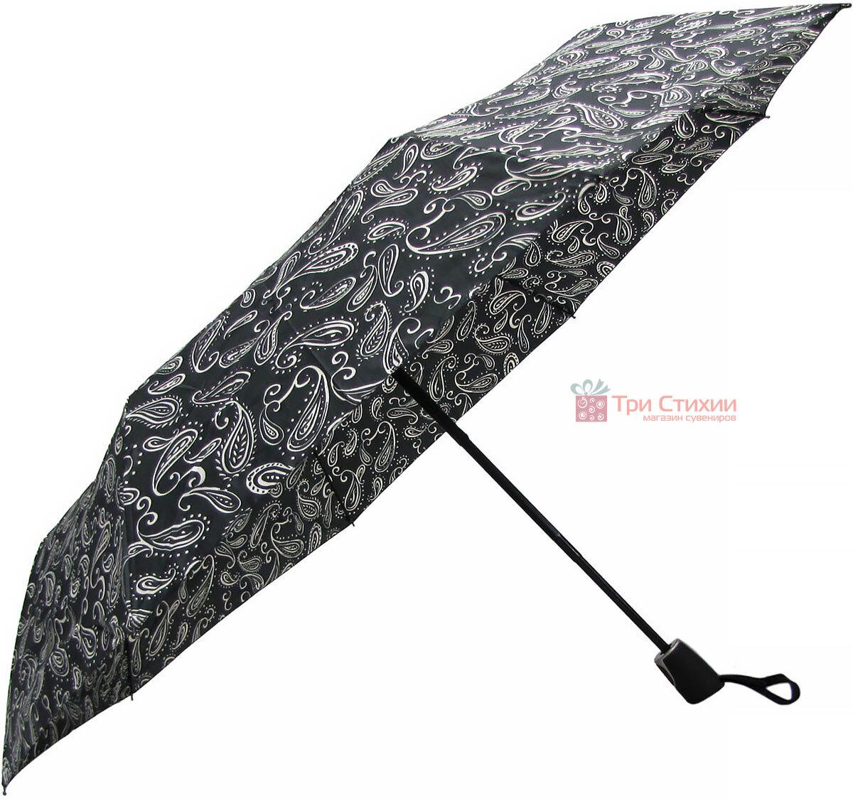 Зонт складной Doppler 7441465BW05 полный автомат Черно-белый, фото 3