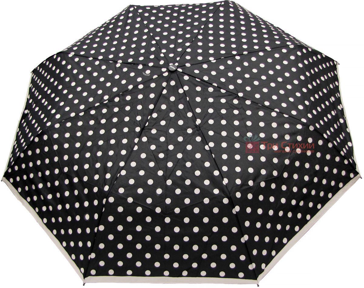 Зонт складной Doppler 7441465BW06 полный автомат Черно-белый, фото 2