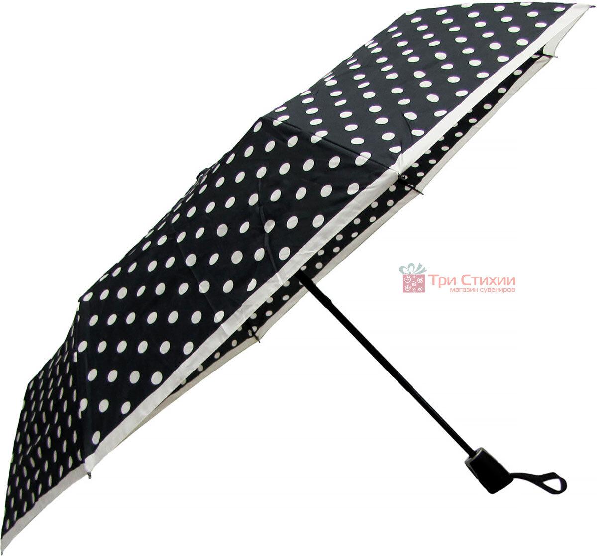 Зонт складной Doppler 7441465BW06 полный автомат Черно-белый, фото 3