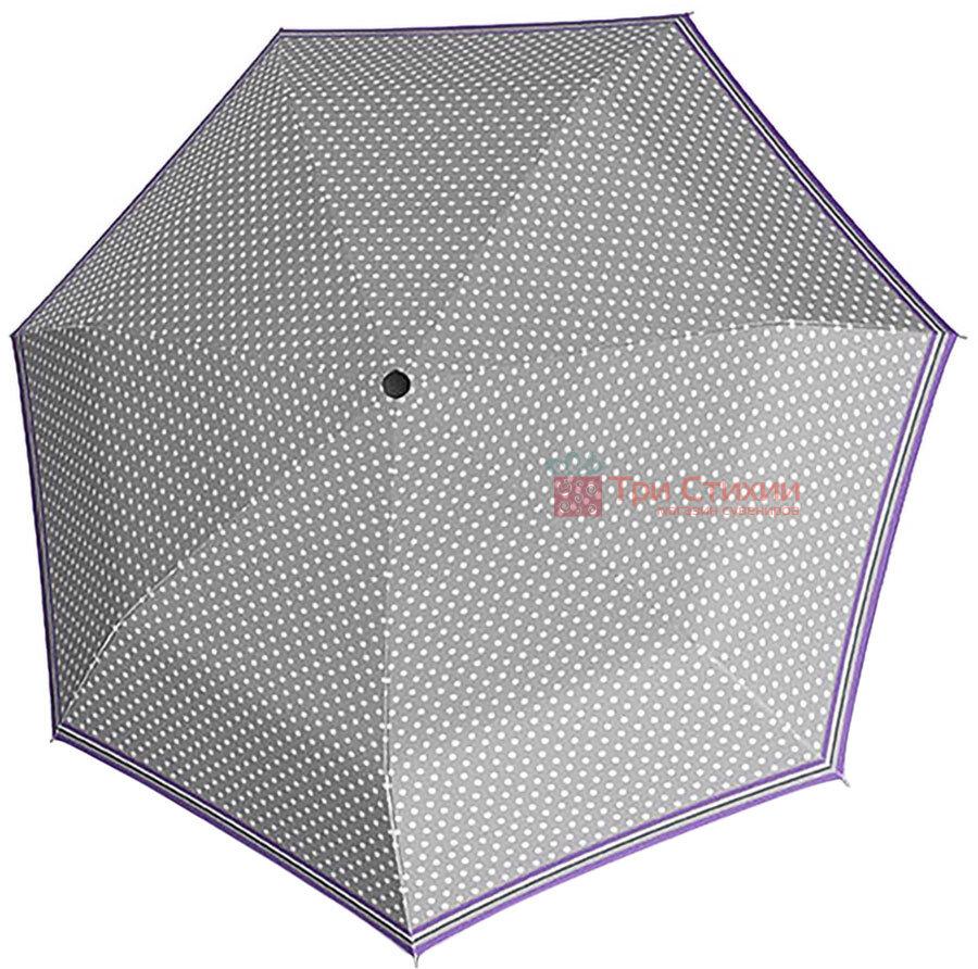 Зонт складной Derby 744165PS-2 автомат Серый, фото