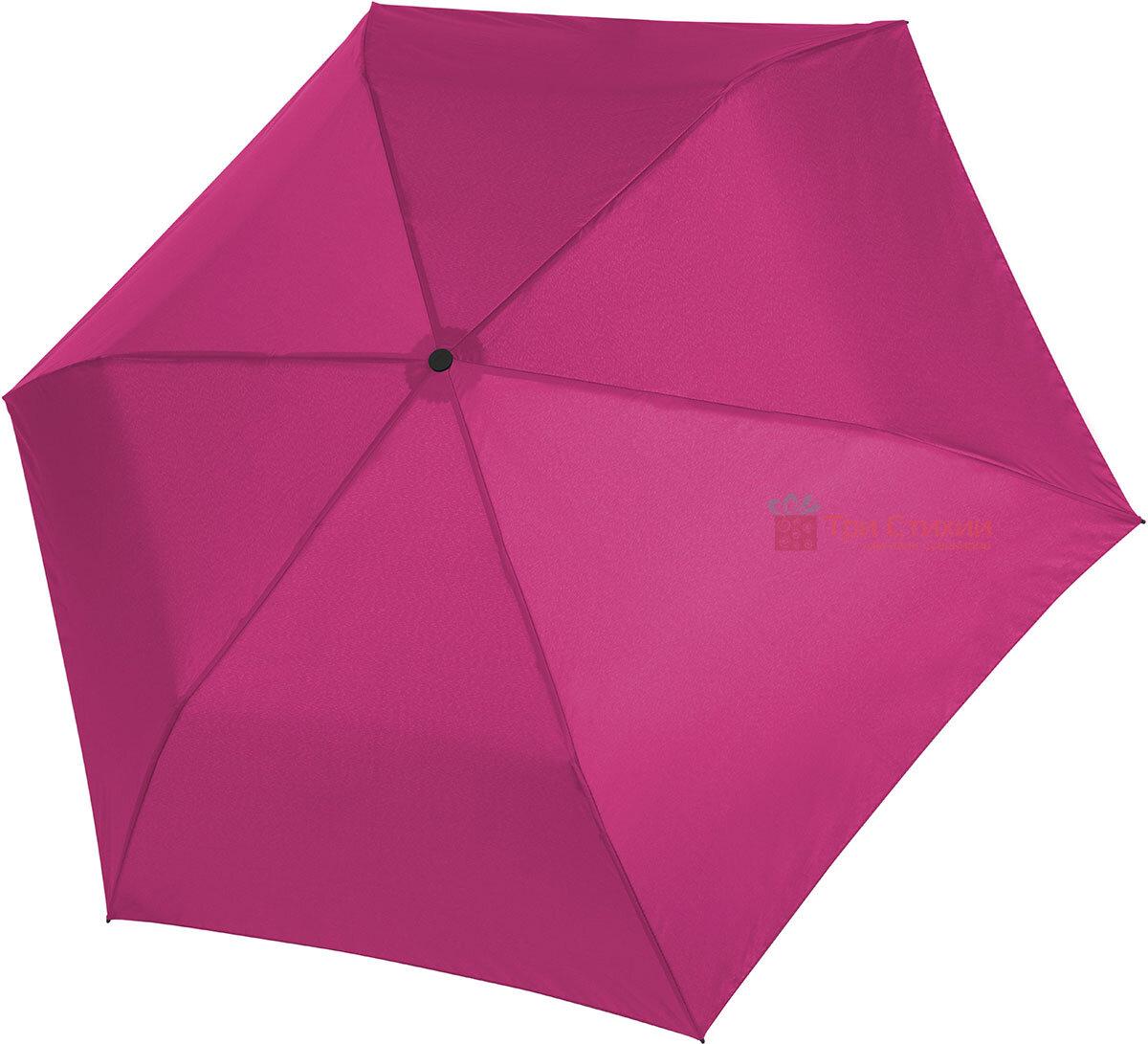 Зонт складной Doppler ZERO полный автомат 74456304 Розовый, фото