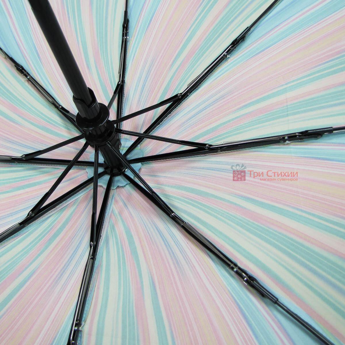 Зонт складной Doppler Carbonsteel 744865F01 полный автомат Зелено-голубой, фото 4