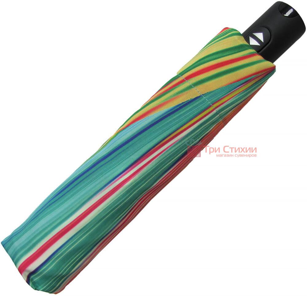 Зонт складной Doppler Carbonsteel 744865F01 полный автомат Зелено-голубой, фото 5