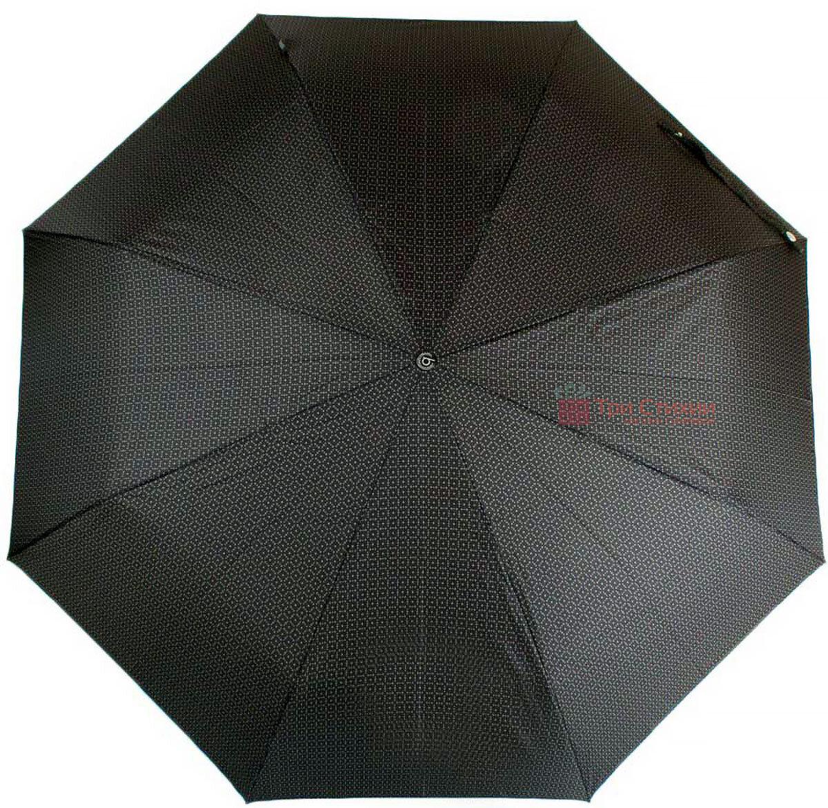 Зонт складной Bugatti 74667BU полный автомат Серый, фото 2