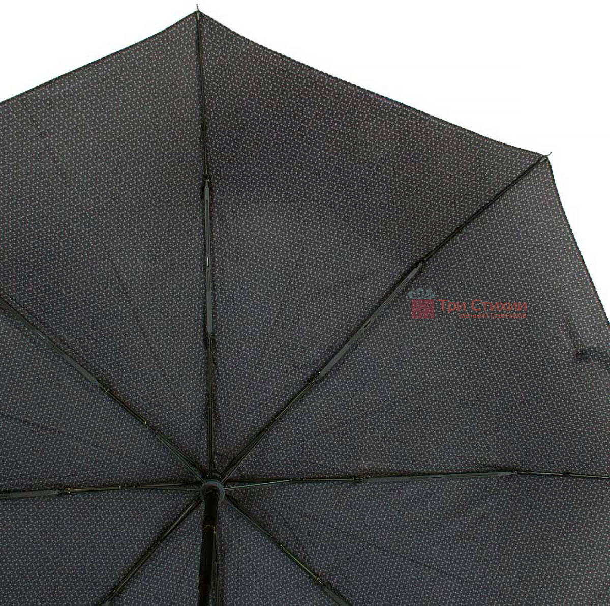 Зонт складной Bugatti 74667BU полный автомат Серый, фото 4