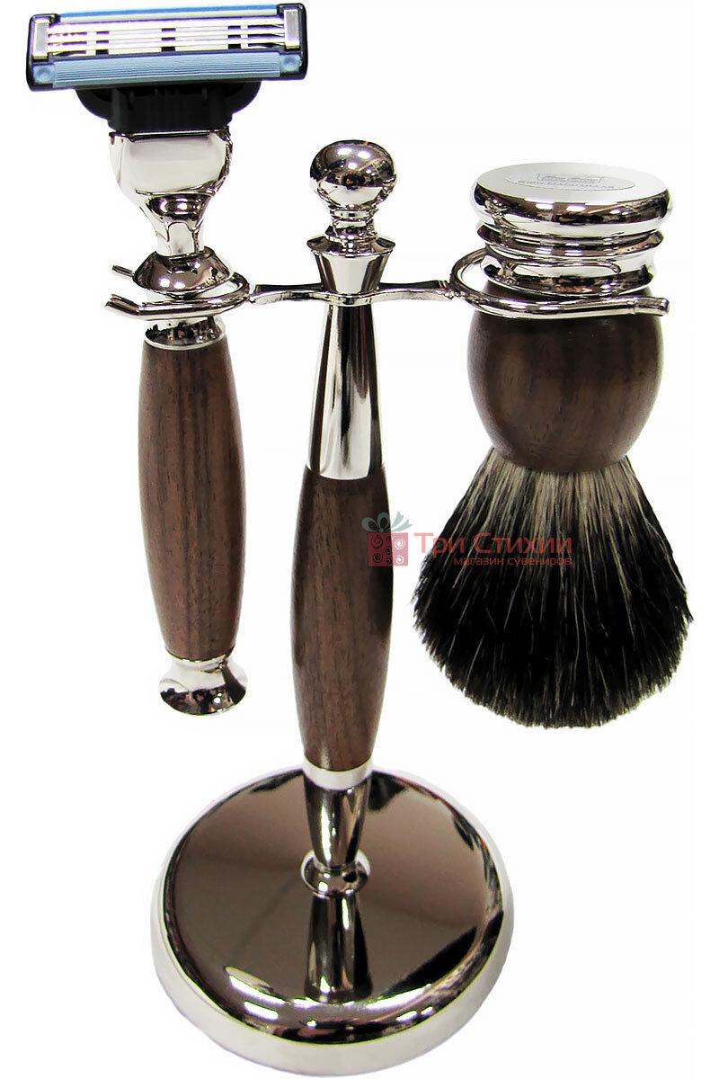 Набор для бритья Hans Baier 75504 Коричневый, фото