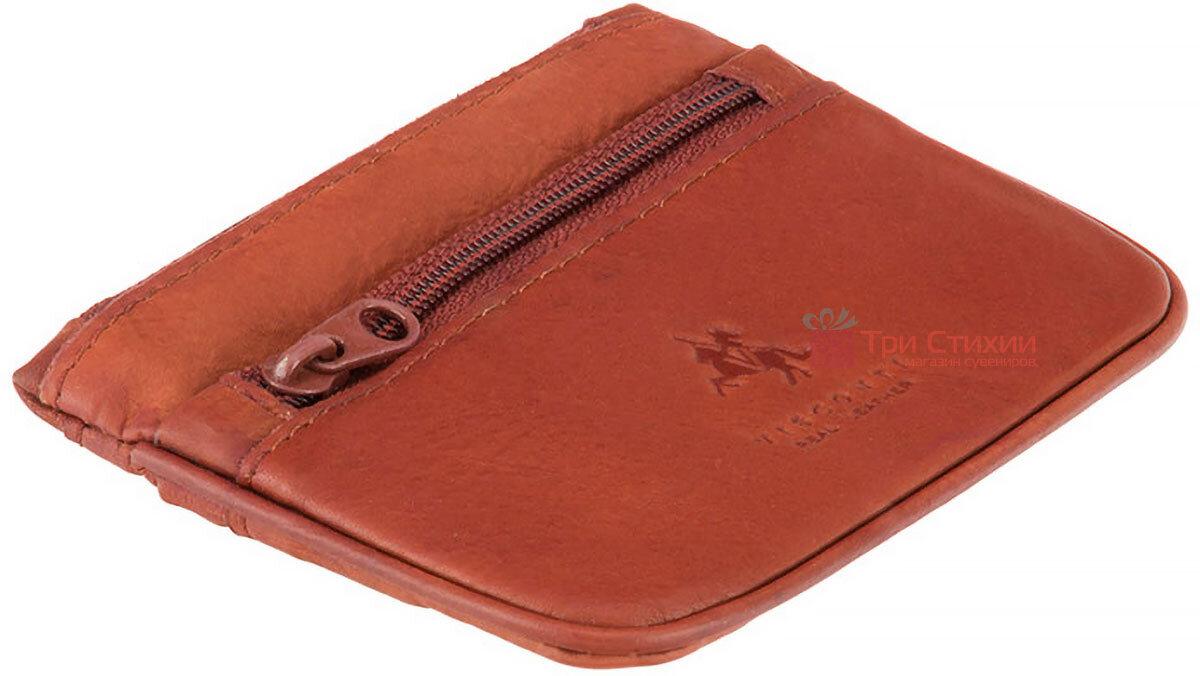 Ключница Visconti CP3 (Brown) кожаная Коричневая, Цвет: Коричневый, фото 3