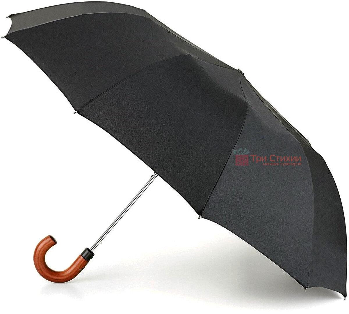 Зонт складной Fulton Magnum-1 Auto G512 полуавтомат Черный (G512-000632), фото