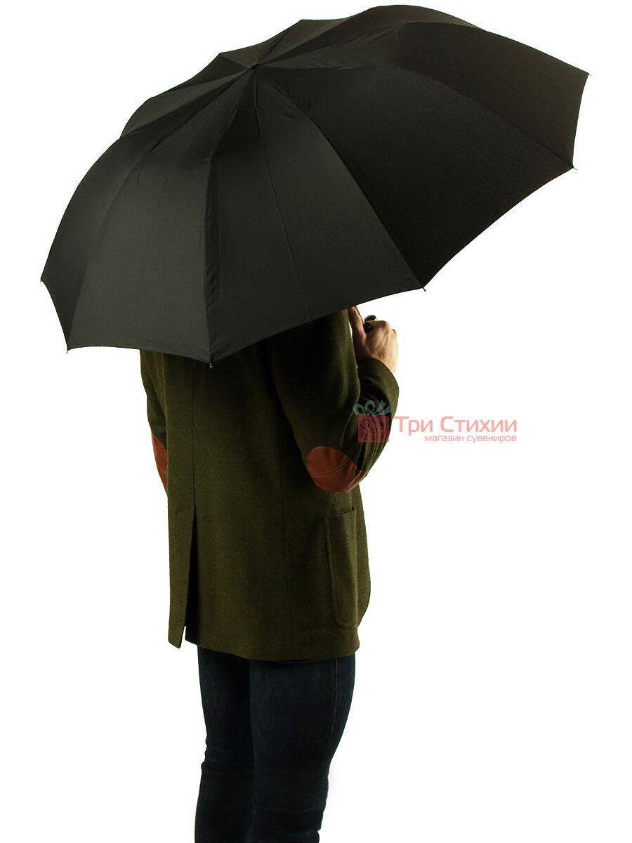 Зонт складной Fulton Magnum-1 Auto G512 полуавтомат Черный (G512-000632), фото 5