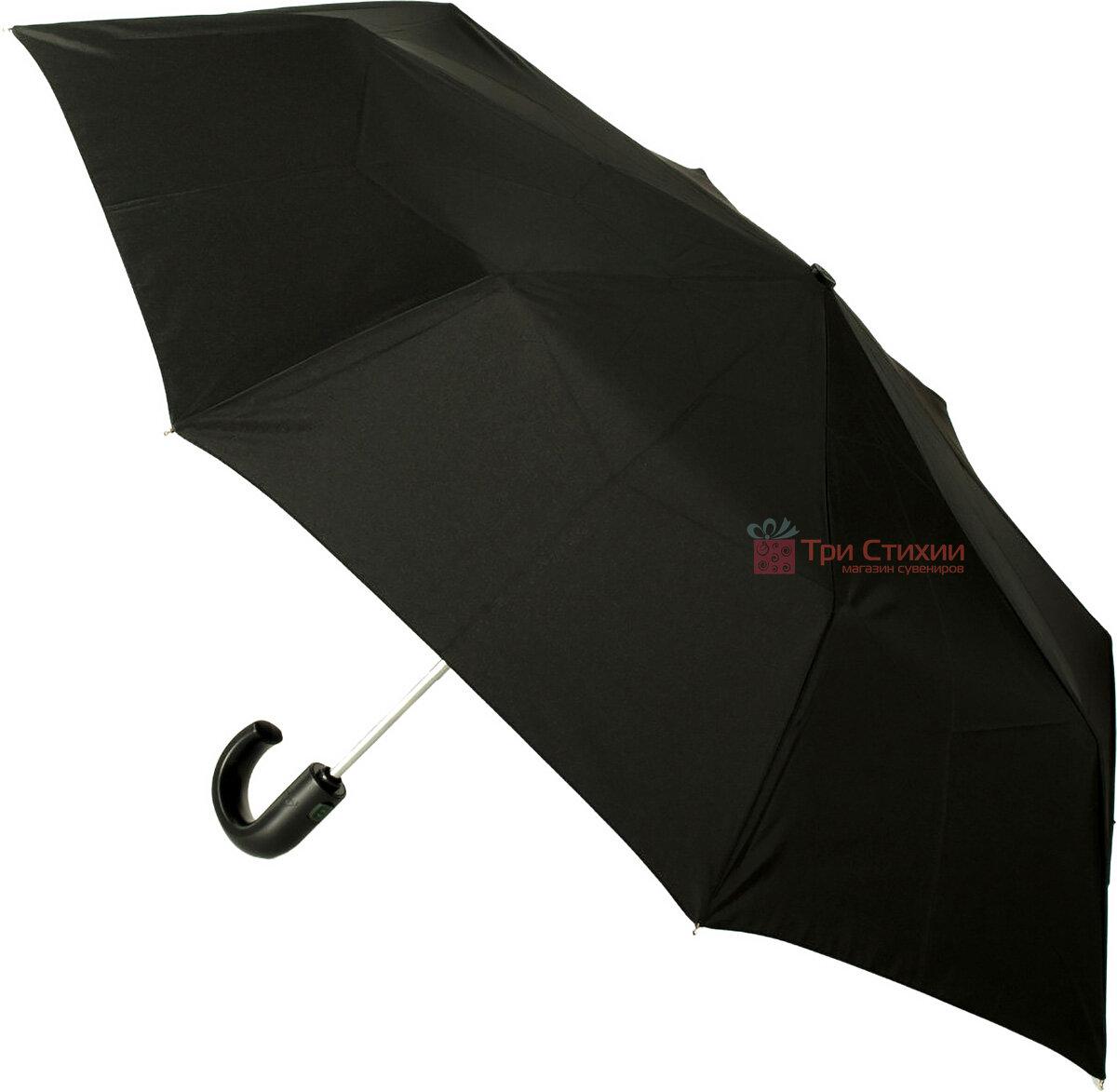 Зонт складной Fulton Open & Close-11 G820 Black полный автомат Черный (G820-003152), фото