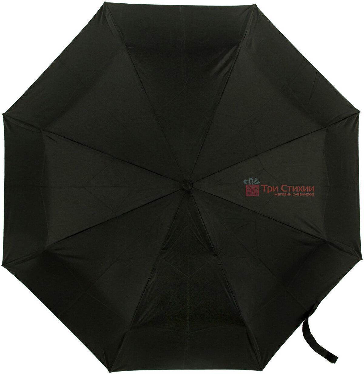 Зонт складной Fulton Open & Close-11 G820 Black полный автомат Черный (G820-003152), фото 2