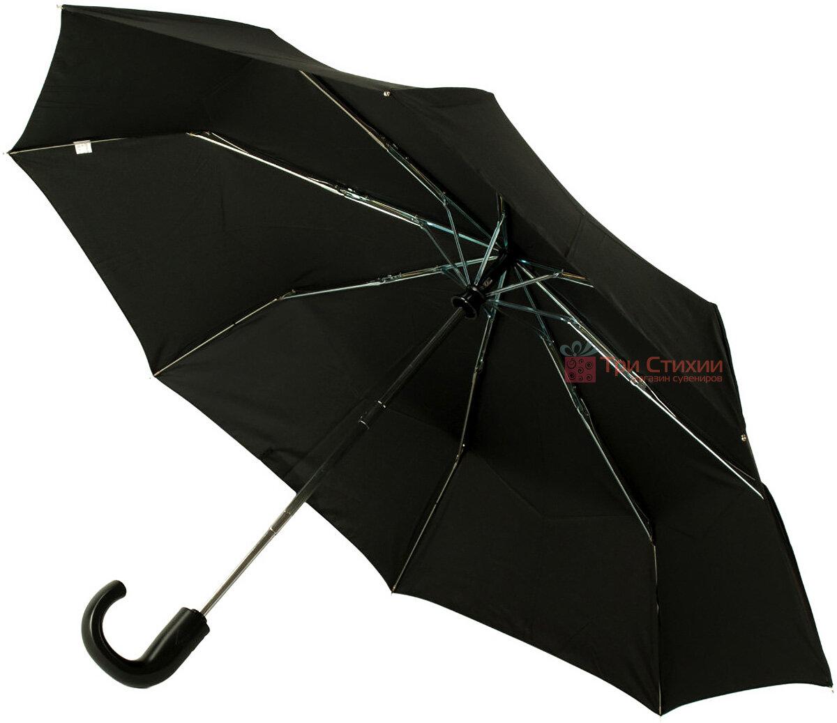Зонт складной Fulton Open & Close-11 G820 Black полный автомат Черный (G820-003152), фото 3