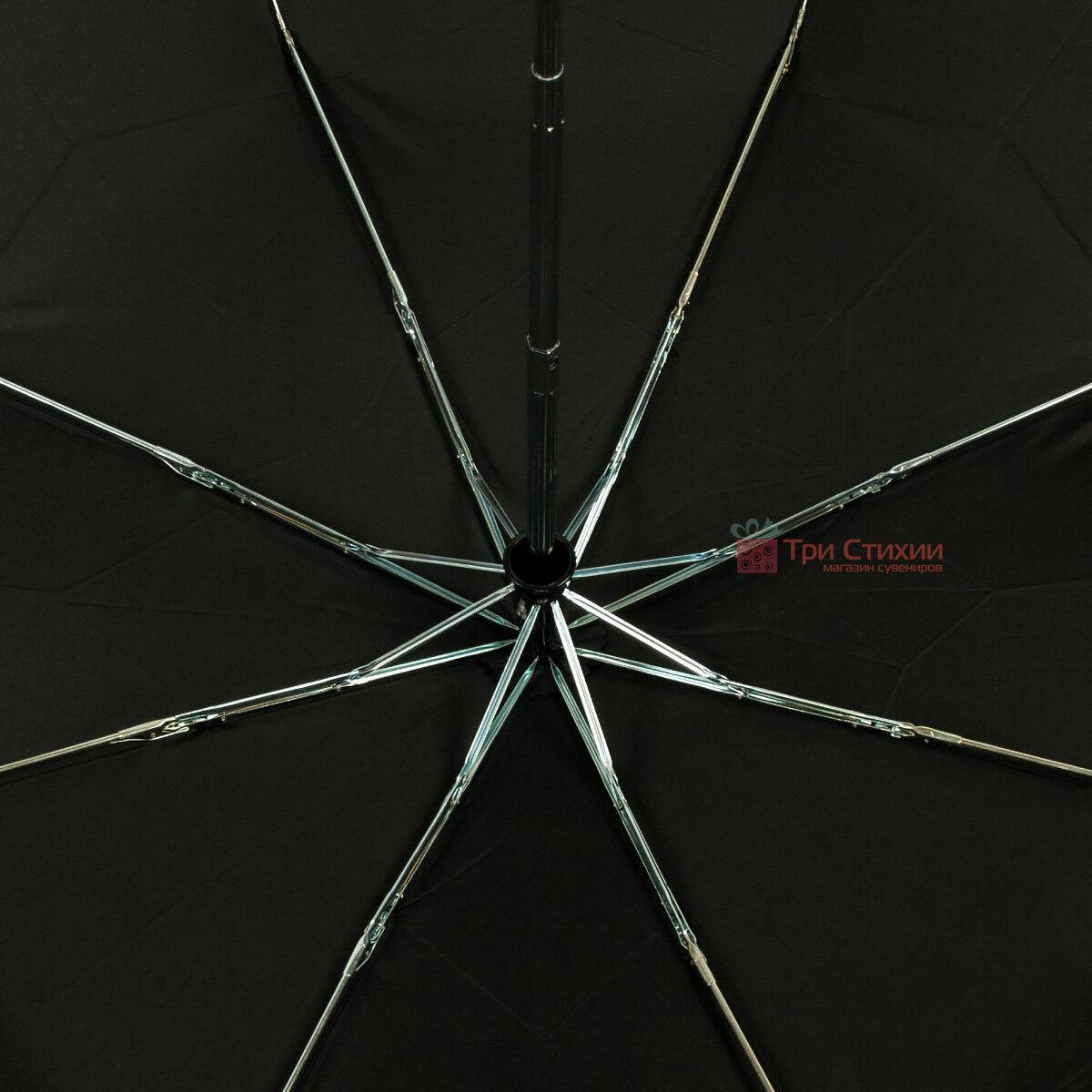 Зонт складной Fulton Open & Close-11 G820 Black полный автомат Черный (G820-003152), фото 6