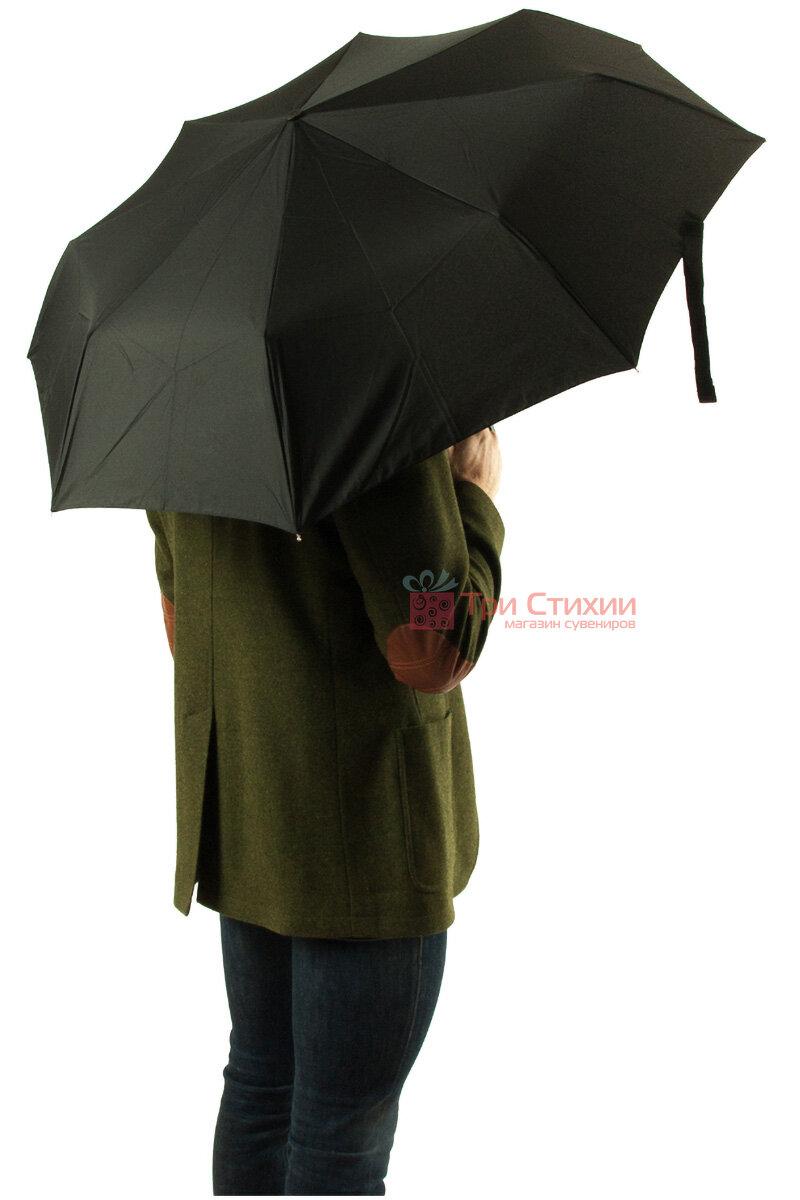 Зонт складной Fulton Open & Close-11 G820 Black полный автомат Черный (G820-003152), фото 7